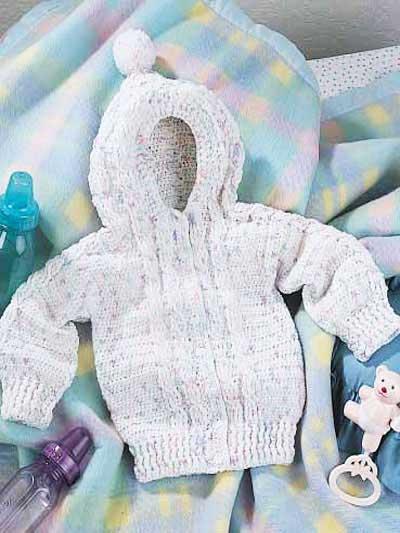 Free Crochet Pattern Baby Hoodie Dancox For
