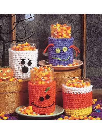 halloween décor crochet