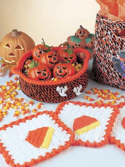 Free Crochet Patterns For Halloween : Halloween Decor Crochet Patterns - Free-Crochet IdeasFree ...