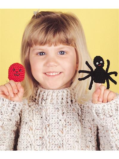 Fall Halloween Finger Puppets