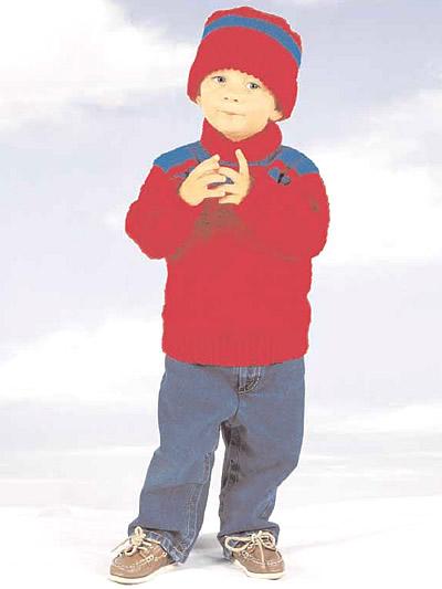 child's turtleneck sweater