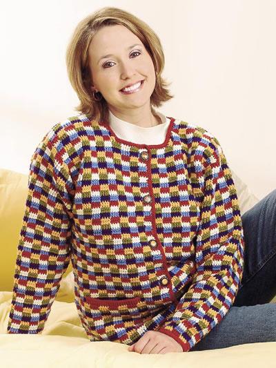 Free Crochet Patterns Ladies Cardigan : Crochet Cardigan Patterns - Weekender Jacket