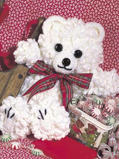 Crochet Accessories - Crochet Gift Patterns - Curly Teddy Bear