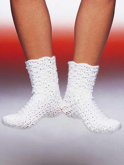 Free Easy Crochet Baby Sock Pattern: Crochet sock patterns guide ...