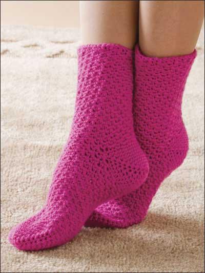 Free Crochet Pattern Slipper Socks Dancox For