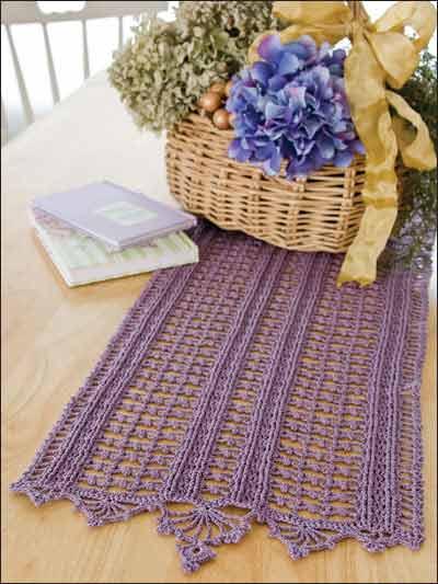 Crochet Patterns Runners : Crochet for the Home - Crochet Tablecloth & Table Runner Patterns ...