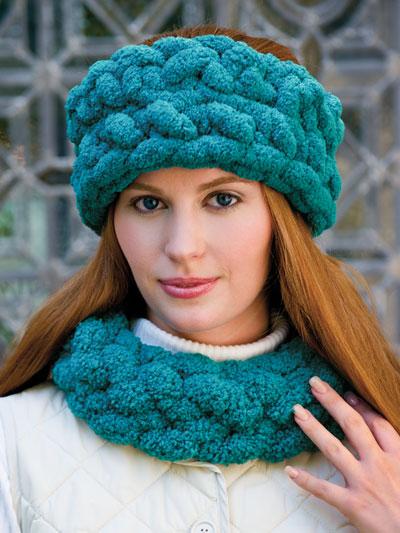 Crochet Hat Patterns - Plush Winter Set -- Free Pattern ...