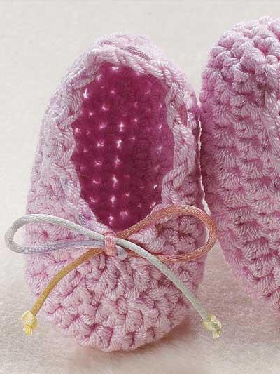 Free Crochet Baby Booties & Socks Patterns - Ballet ...