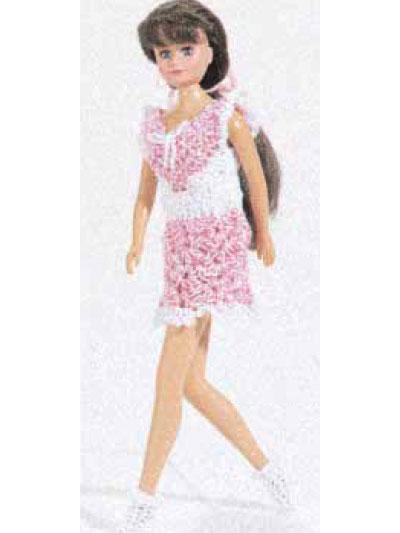 Crochet Accessories - Crochet Gift Patterns - Doll Mini Dress