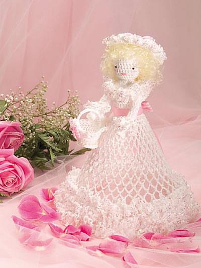 Crochet Flower Girl Basket Pattern : Crochet accessories gift patterns flower girl