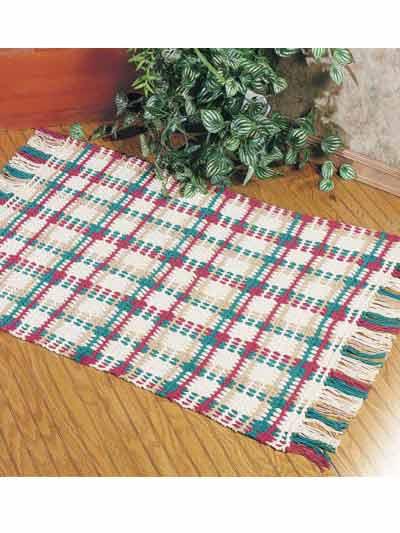 Crochet Rug Patterns For Beginners : Crochet Rug Patterns - Highland Fling Rug