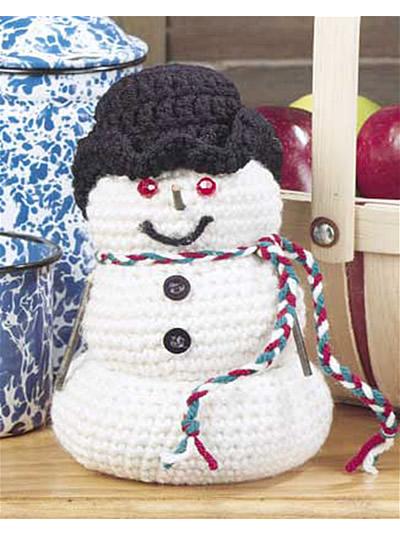 Free Pattern Crochet Snowman : Winter Crochet Patterns - Snowman