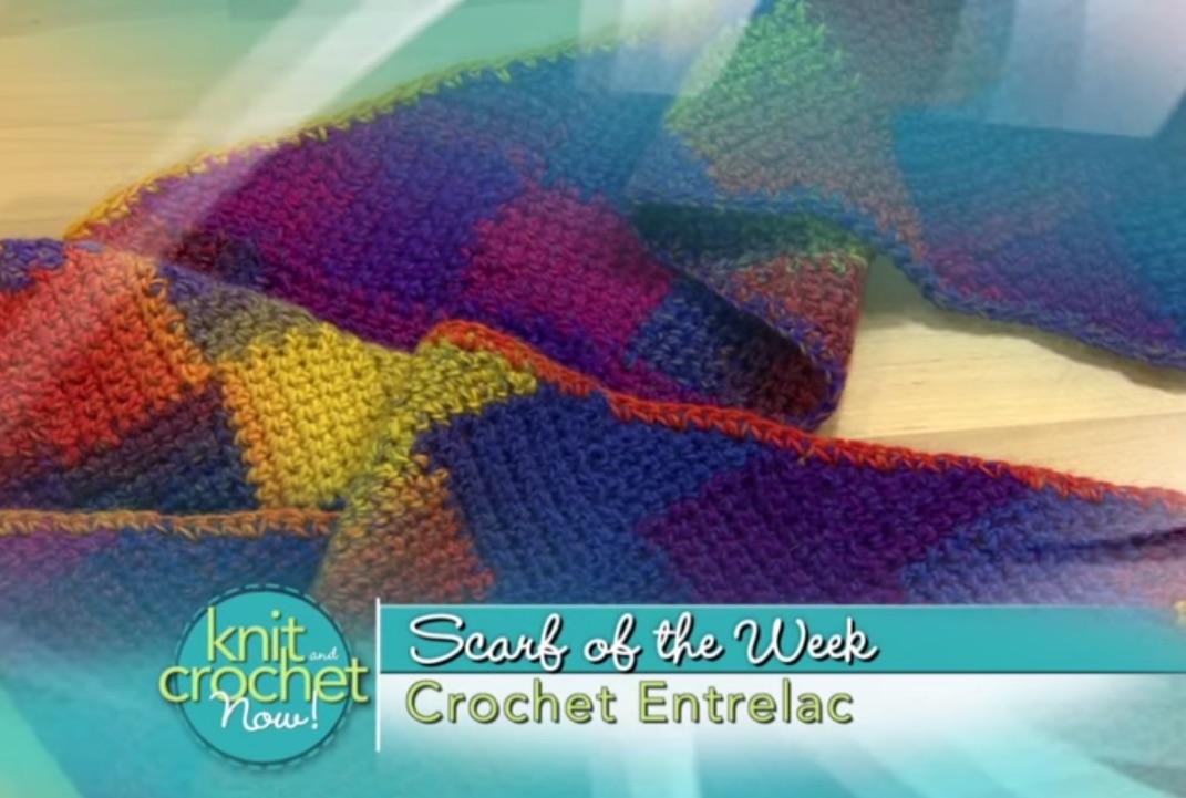 Crochet a Scarf - Entrelac Scarf Pattern